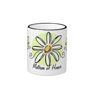 Sunflower Matron of Honor Mug