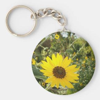 Sunflower Meadow Keychain