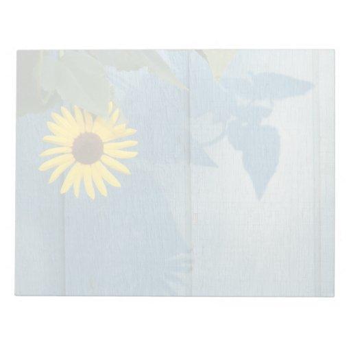 Sunflower Memo Notepads