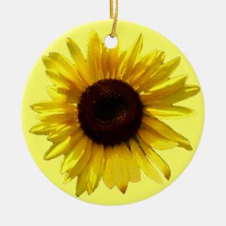 Sunflower Memorial Ornament