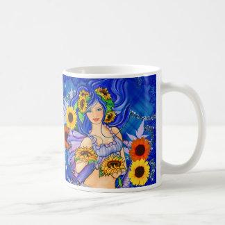 Sunflower Mermaid cup