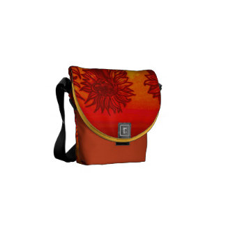 Sunflower Mini bag Courier Bag