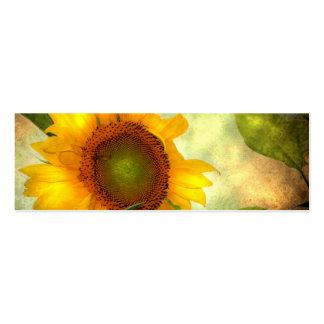 Sunflower Mini Customizable Card Business Card Templates