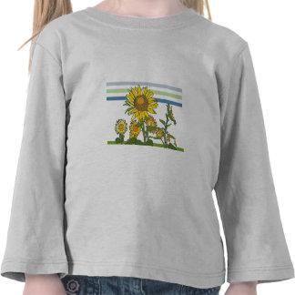 Sunflower + Modern + Stripes Tee Shirts