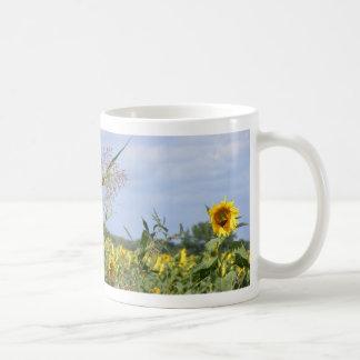 Sunflower Monarch Coffee Mug