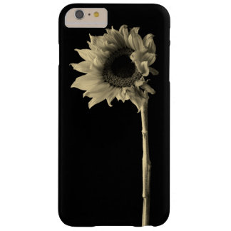 Sunflower - Monochrome Fine Art Photograph Barely There iPhone 6 Plus Case