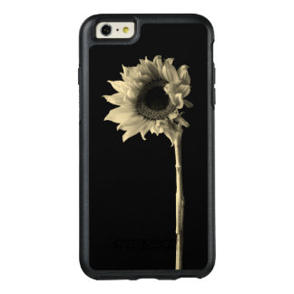 Sunflower - Monochrome Fine Art Photograph OtterBox iPhone 6/6s Plus Case