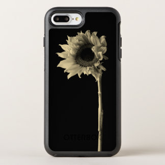 Sunflower - Monochrome Fine Art Photograph OtterBox Symmetry iPhone 8 Plus/7 Plus Case