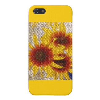 Sunflower Mosaic - case Covers For iPhone 5