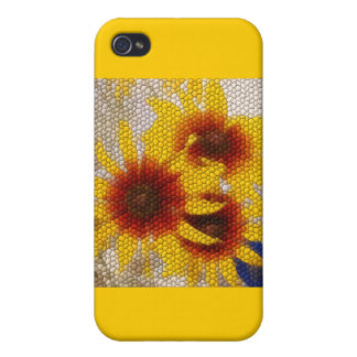 Sunflower Mosaic - case iPhone 4/4S Cases