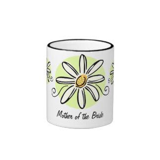 Sunflower Mother of Bride Mug