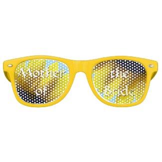 Sunflower Mother of the Bride Wayfarer Sunglasses