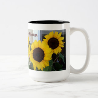 Sunflower Mothers Day Two Toned Mug