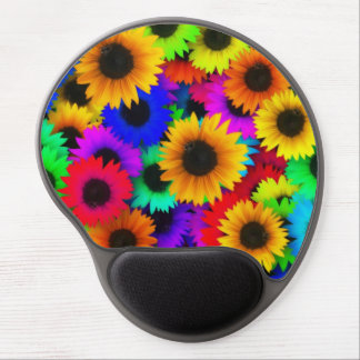 sunflower mouse pad gel mouse pad