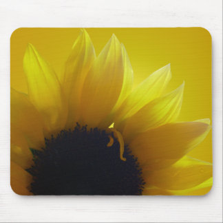 Sunflower Mousepad Beautiful Yellow Flower Gifts