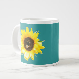 Sunflower Mug - Teal