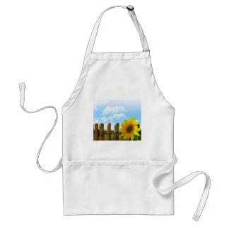 Sunflower Nature Beauty Adult Apron