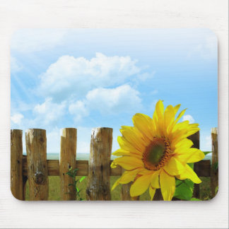 Sunflower Nature Beauty Mouse Pad
