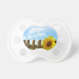 Sunflower Nature Beauty Pacifier