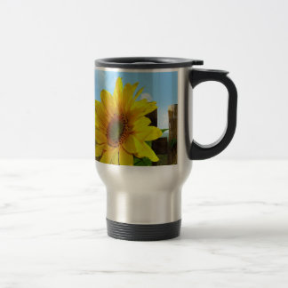 Sunflower Nature Beauty Travel Mug