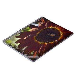 Sunflower Notebook notebook