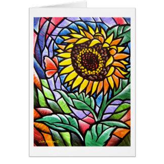 Sunflower Notecard Card