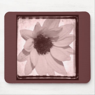 sunflower oldstyle mouse pad