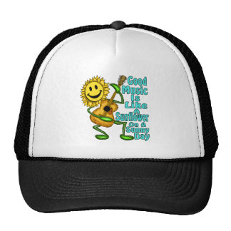 Sunflower On A Sunny Day Trucker Hat