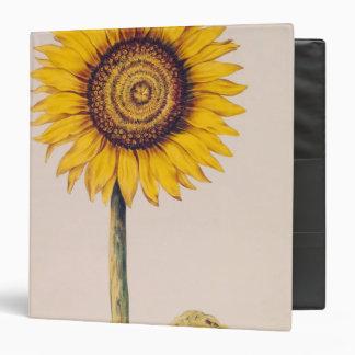 Sunflower or Helianthus 3 Ring Binder