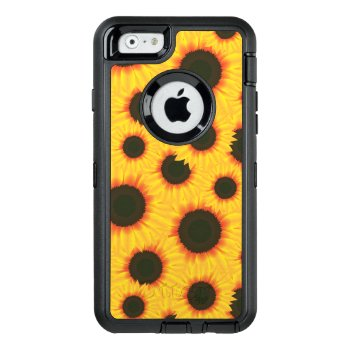 Sunflower Otterbox Defender Iphone Case by GreenOptix at Zazzle