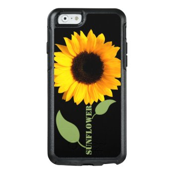 Sunflower Otterbox Iphone 6 Plus Case by DizzyDebbie at Zazzle