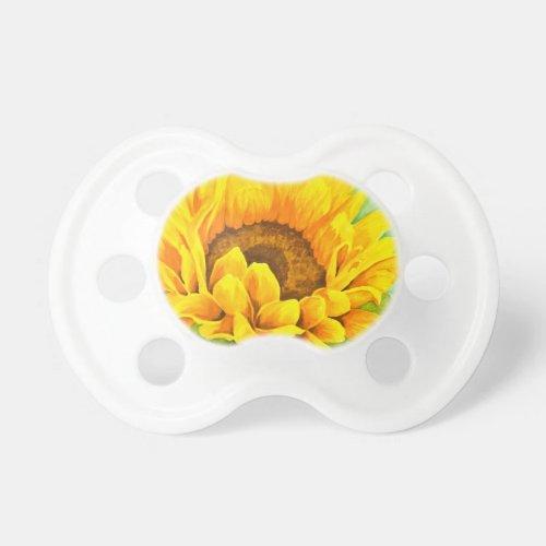 Sunflower Pacifier