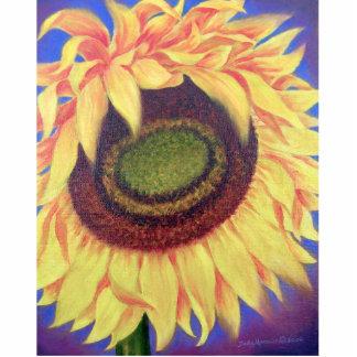 Sunflower Painting Art - Photo Sculpture