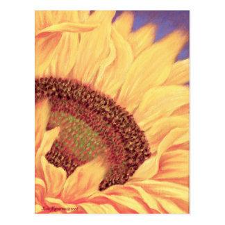 Sunflower Painting Flower Art - Multi Postcard