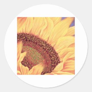 Sunflower Painting Flower Art - Multi Sticker