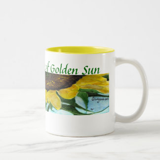 Sunflower Painting Mugs - Drink Sunshine