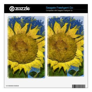 Sunflower painting FreeAgent go skins