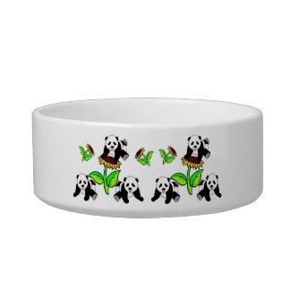 Sunflower Pandas Bowl