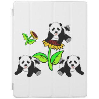 Sunflower Pandas iPad Cover
