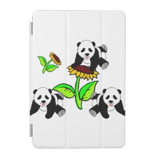 Sunflower Pandas iPad Mini Cover