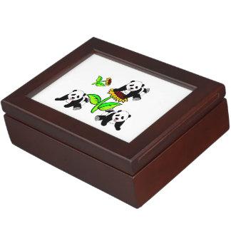 Sunflower Pandas Memory Boxes