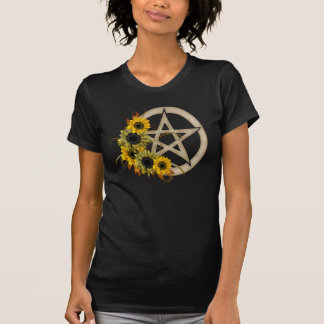 Sunflower Pentagram T-Shirt