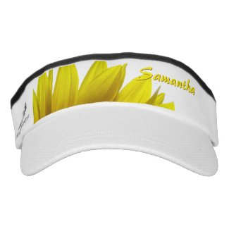 Sunflower Personalized Headsweats Visor