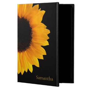 Sunflower Personalized iPad Air Case