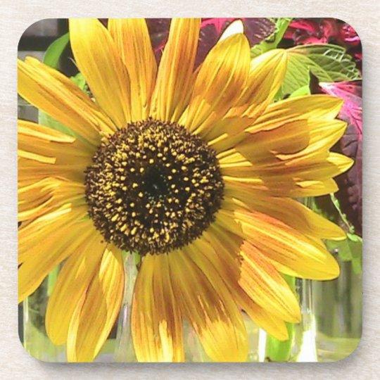 Sunflower Petal Cork Coaster