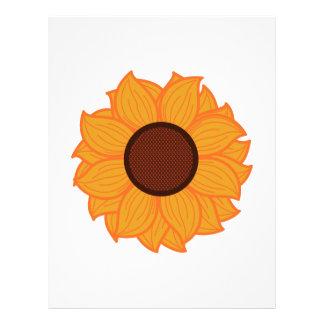 Sunflower Petal Letterhead