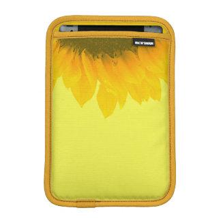 Sunflower Photo Floral Macro Sunny Yellow iPad Mini Sleeves