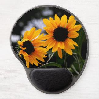 Sunflower Photo Gel Mouse Mats