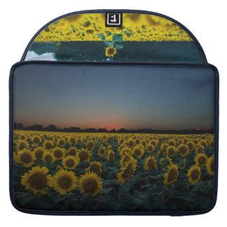 Sunflower Photo Macbook case Sleeves For MacBook Pro