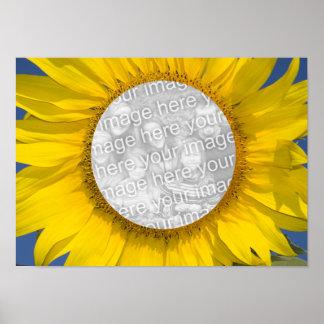 Sunflower Photo Poster